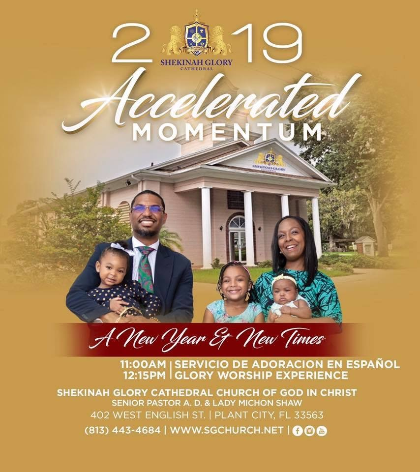 Accelerated Momentum 2019 – Shekinah Glory Cathedral